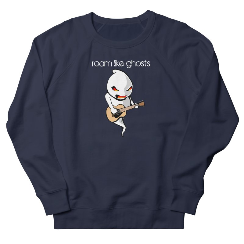 Ghost Guitar for Dark Colored Apparel Women's French Terry Sweatshirt by Roam Like Ghost's Merch Shop