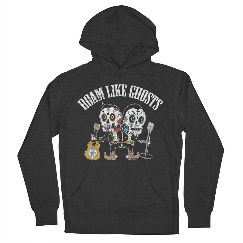RLG-Amigos-Color-Darks Women's French Terry Pullover Hoody by Roam Like Ghost's Merch Shop