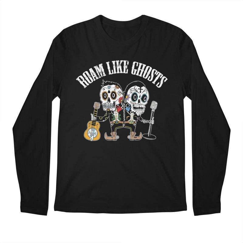 RLG-Amigos-Color-Darks Men's Regular Longsleeve T-Shirt by Roam Like Ghost's Merch Shop