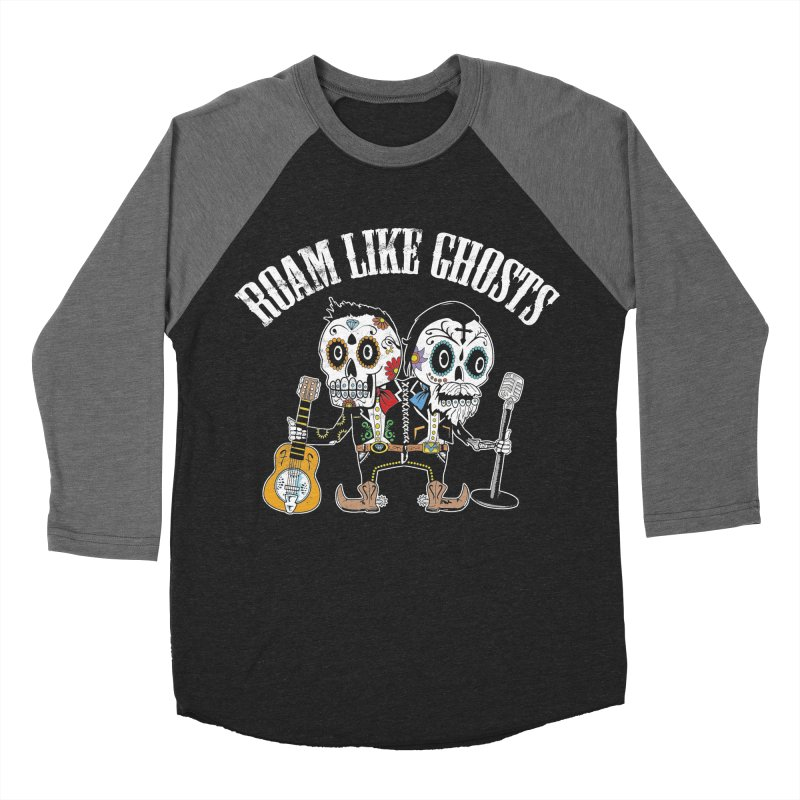 RLG-Amigos-Color-Darks Men's Baseball Triblend Longsleeve T-Shirt by Roam Like Ghost's Merch Shop