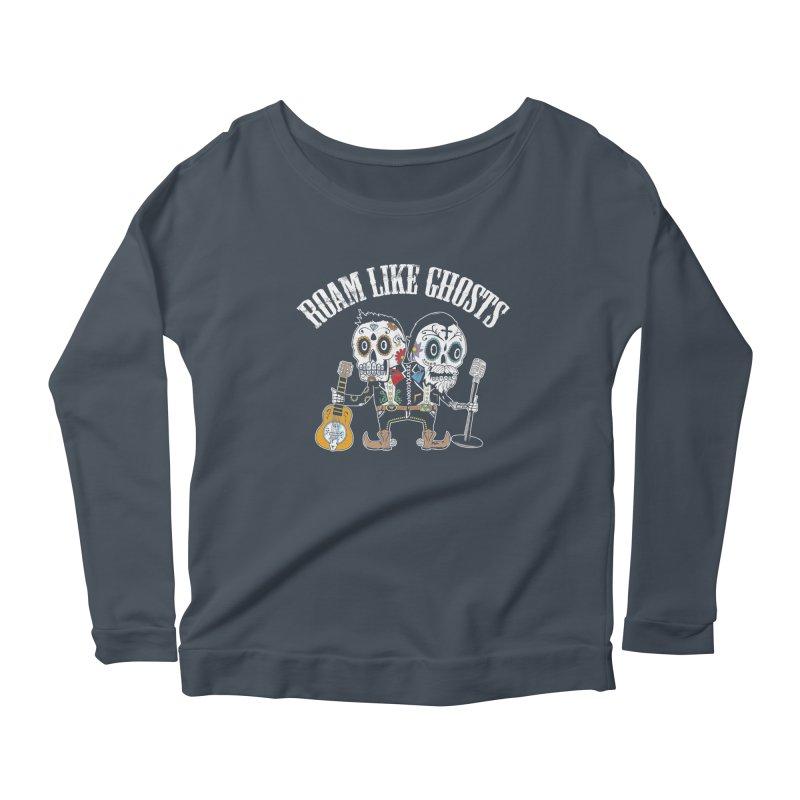 RLG-Amigos-Color-Darks Women's Scoop Neck Longsleeve T-Shirt by Roam Like Ghost's Merch Shop