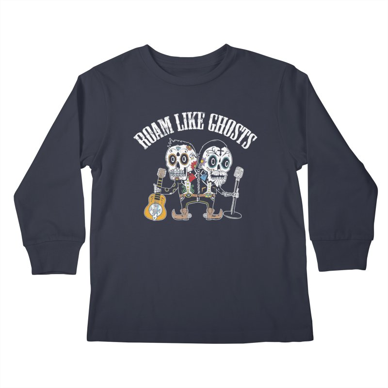 RLG-Amigos-Color-Darks Kids Longsleeve T-Shirt by Roam Like Ghost's Merch Shop