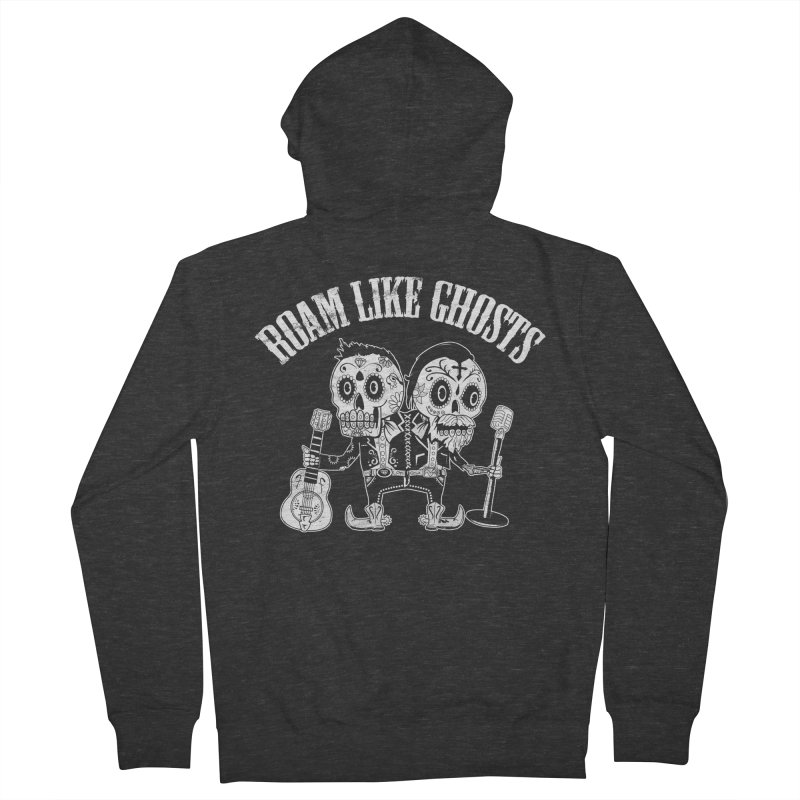 RLG-Amigos-BW-Darks Women's French Terry Zip-Up Hoody by Roam Like Ghost's Merch Shop