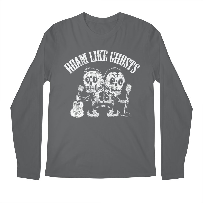 RLG-Amigos-BW-Darks Men's Regular Longsleeve T-Shirt by Roam Like Ghost's Merch Shop