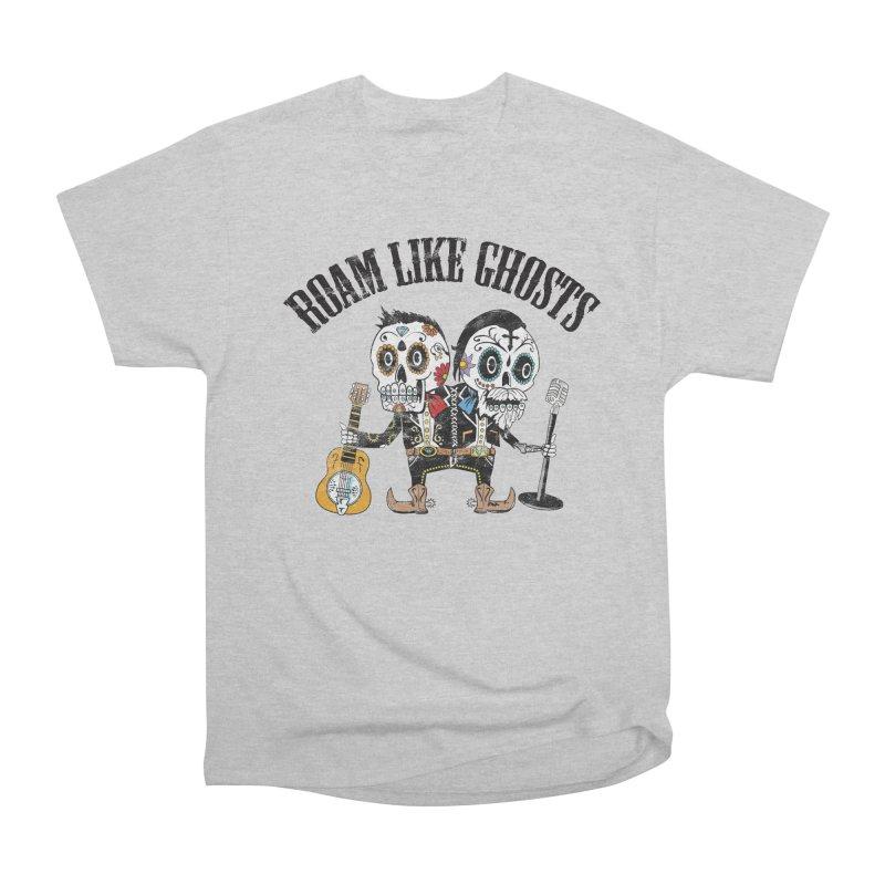 RLG-Amigos-Color-Lights Women's Heavyweight Unisex T-Shirt by Roam Like Ghost's Merch Shop