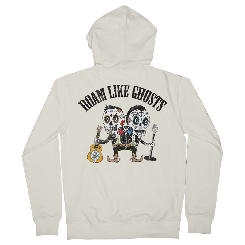 RLG-Amigos-Color-Lights Women's French Terry Zip-Up Hoody by Roam Like Ghost's Merch Shop