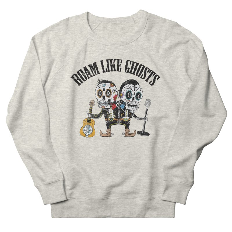 RLG-Amigos-Color-Lights Men's French Terry Sweatshirt by Roam Like Ghost's Merch Shop
