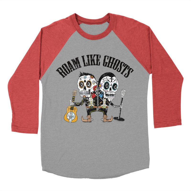 RLG-Amigos-Color-Lights Men's Baseball Triblend Longsleeve T-Shirt by Roam Like Ghost's Merch Shop