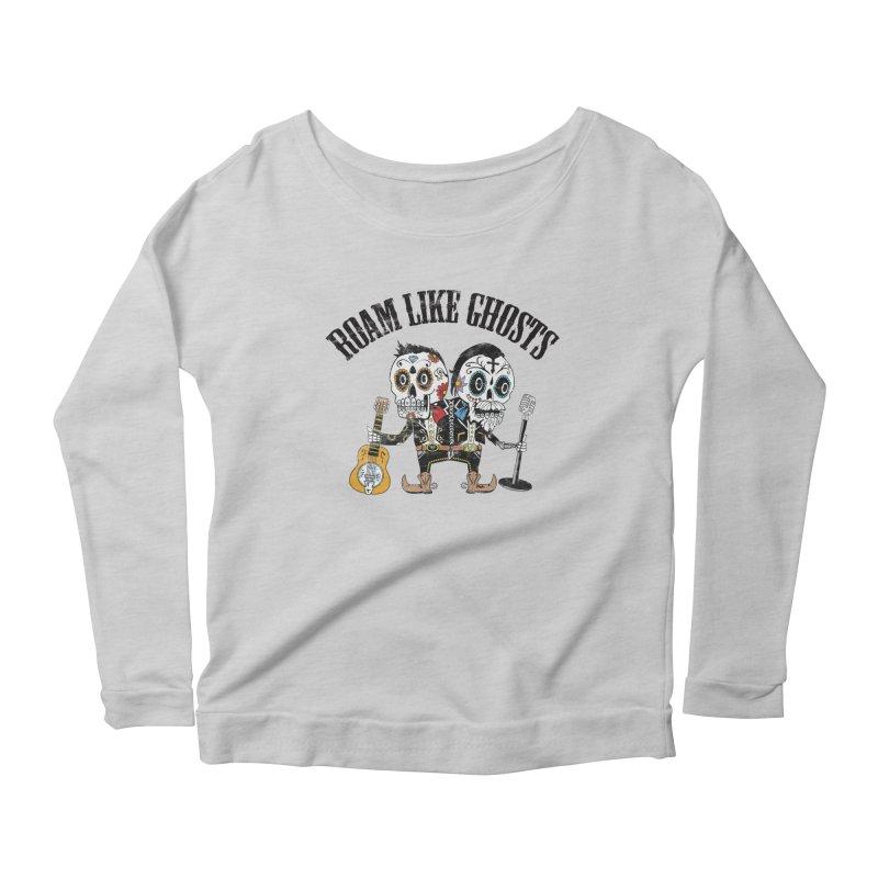 RLG-Amigos-Color-Lights Women's Scoop Neck Longsleeve T-Shirt by Roam Like Ghost's Merch Shop