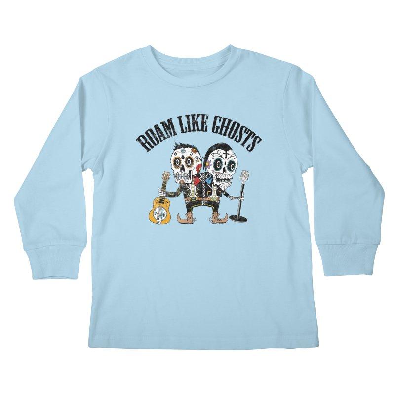 RLG-Amigos-Color-Lights Kids Longsleeve T-Shirt by Roam Like Ghost's Merch Shop