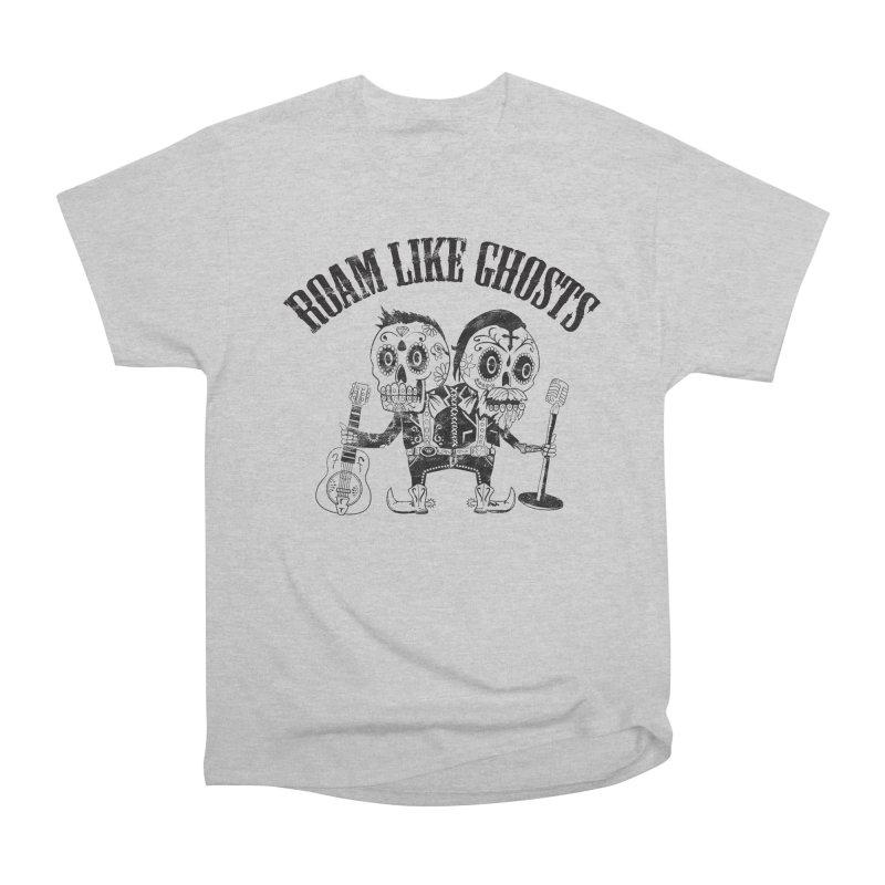 RLG-Amigos-Black Women's Heavyweight Unisex T-Shirt by Roam Like Ghost's Merch Shop