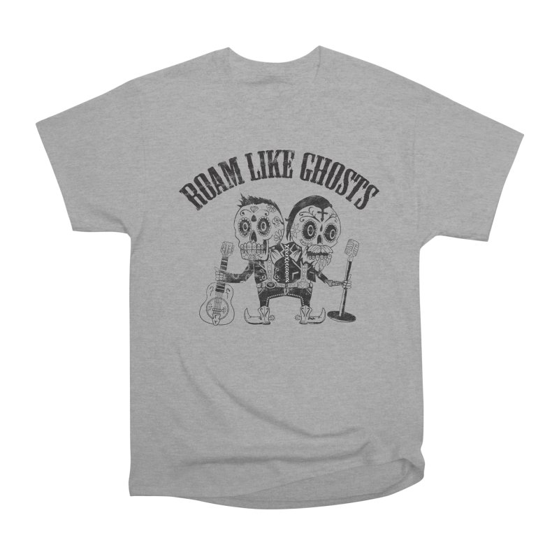 RLG-Amigos-Black Men's Heavyweight T-Shirt by Roam Like Ghost's Merch Shop