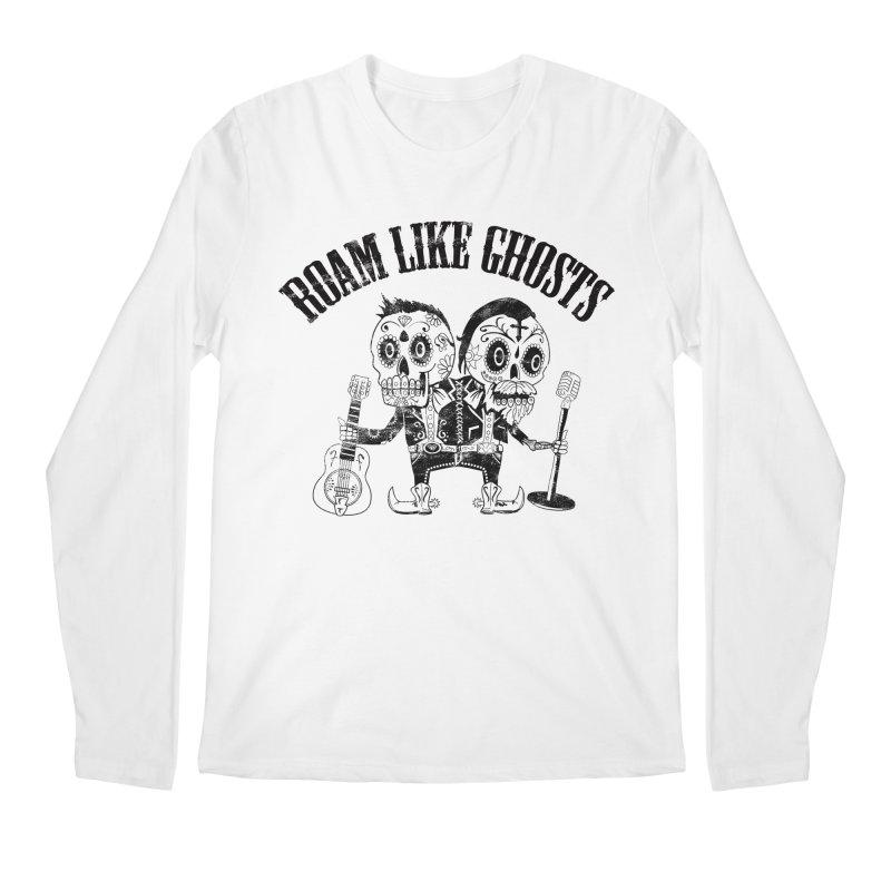 RLG-Amigos-Black Men's Regular Longsleeve T-Shirt by Roam Like Ghost's Merch Shop