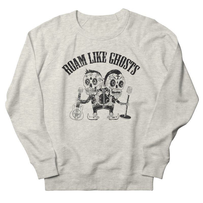 RLG-Amigos-Black Women's French Terry Sweatshirt by Roam Like Ghost's Merch Shop