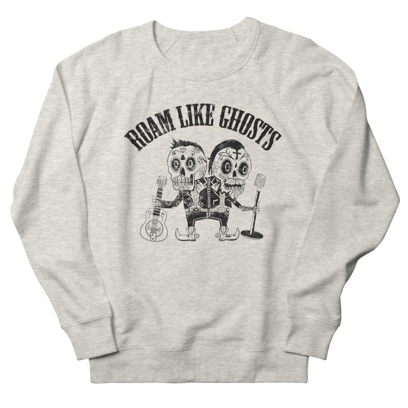 RLG-Amigos-Black Men's French Terry Sweatshirt by Roam Like Ghost's Merch Shop