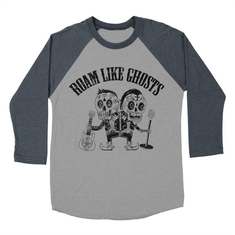 RLG-Amigos-Black Women's Baseball Triblend Longsleeve T-Shirt by Roam Like Ghost's Merch Shop