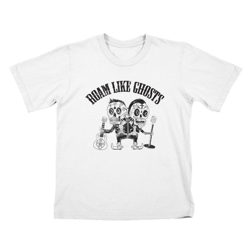 RLG-Amigos-Black Kids T-Shirt by Roam Like Ghost's Merch Shop