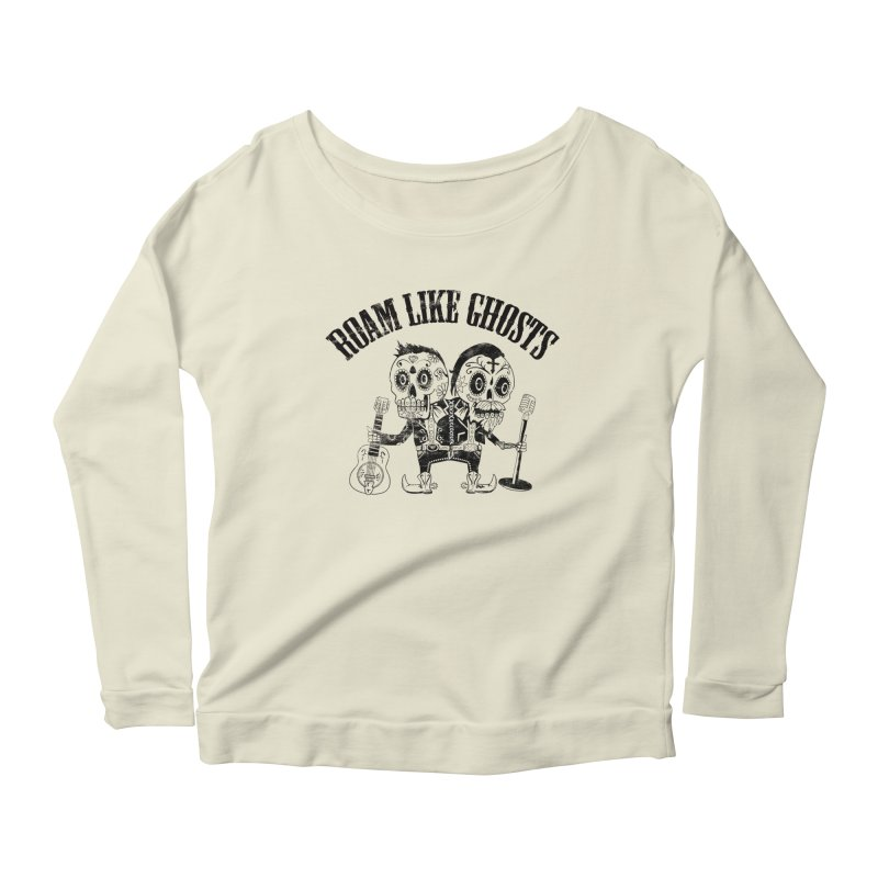 RLG-Amigos-Black Women's Scoop Neck Longsleeve T-Shirt by Roam Like Ghost's Merch Shop