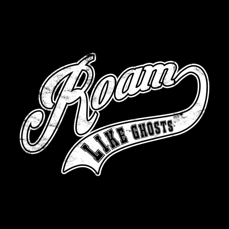 Roam Like Ghosts - Athletics for Darks colors Men's Longsleeve T-Shirt by Roam Like Ghost's Merch Shop