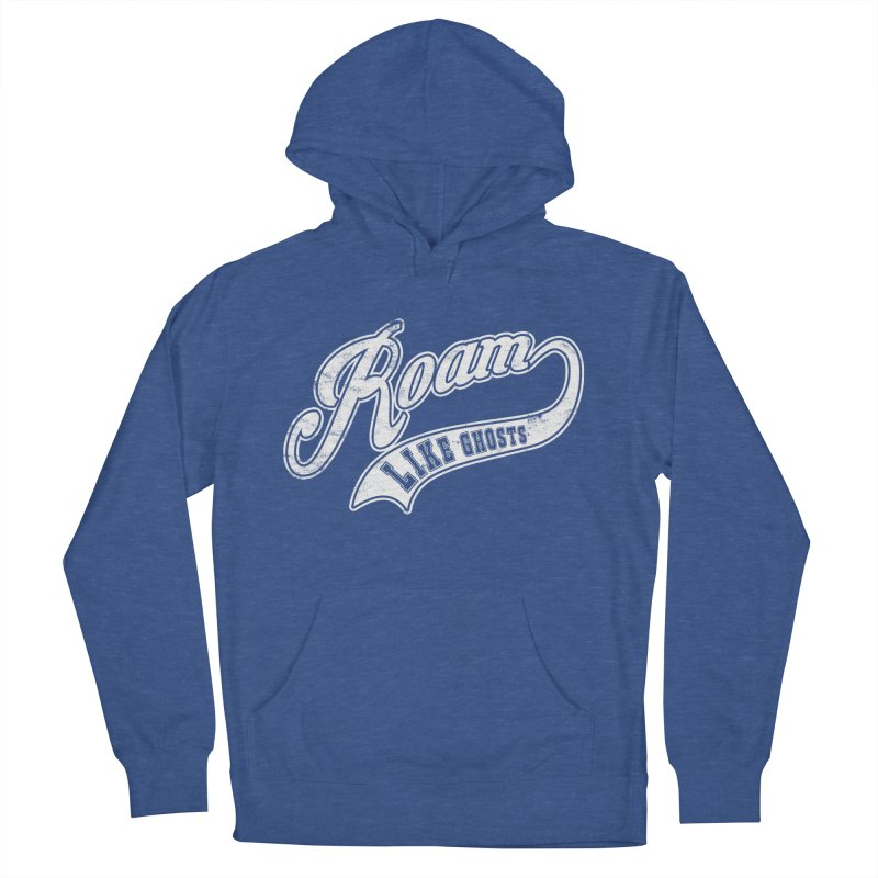Roam Like Ghosts - Athletics for Darks colors Women's French Terry Pullover Hoody by Roam Like Ghost's Merch Shop
