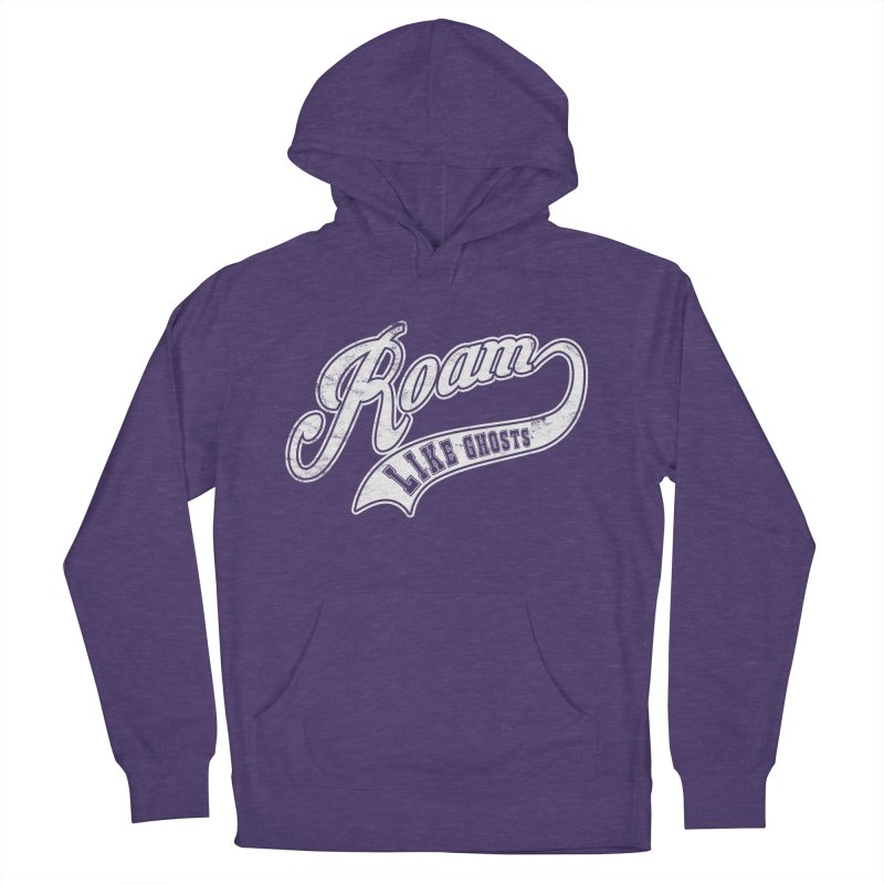 Roam Like Ghosts - Athletics for Darks colors Men's French Terry Pullover Hoody by Roam Like Ghost's Merch Shop