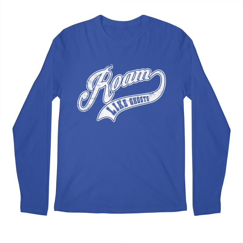 Roam Like Ghosts - Athletics for Darks colors Men's Regular Longsleeve T-Shirt by Roam Like Ghost's Merch Shop