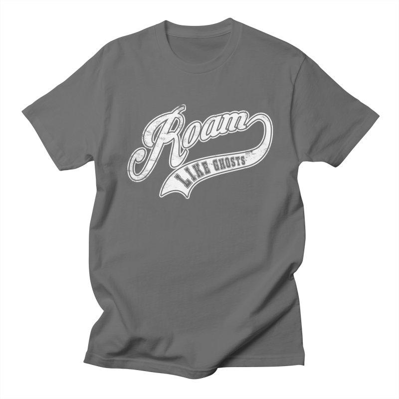 Roam Like Ghosts - Athletics for Darks colors Women's Regular Unisex T-Shirt by Roam Like Ghost's Merch Shop