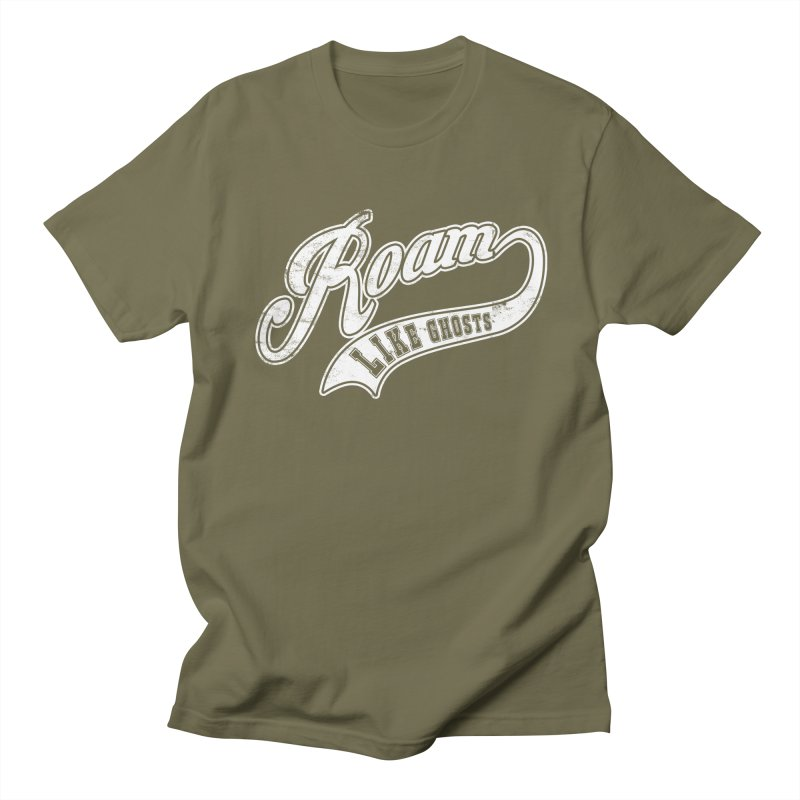 Roam Like Ghosts - Athletics for Darks colors Men's Regular T-Shirt by Roam Like Ghost's Merch Shop