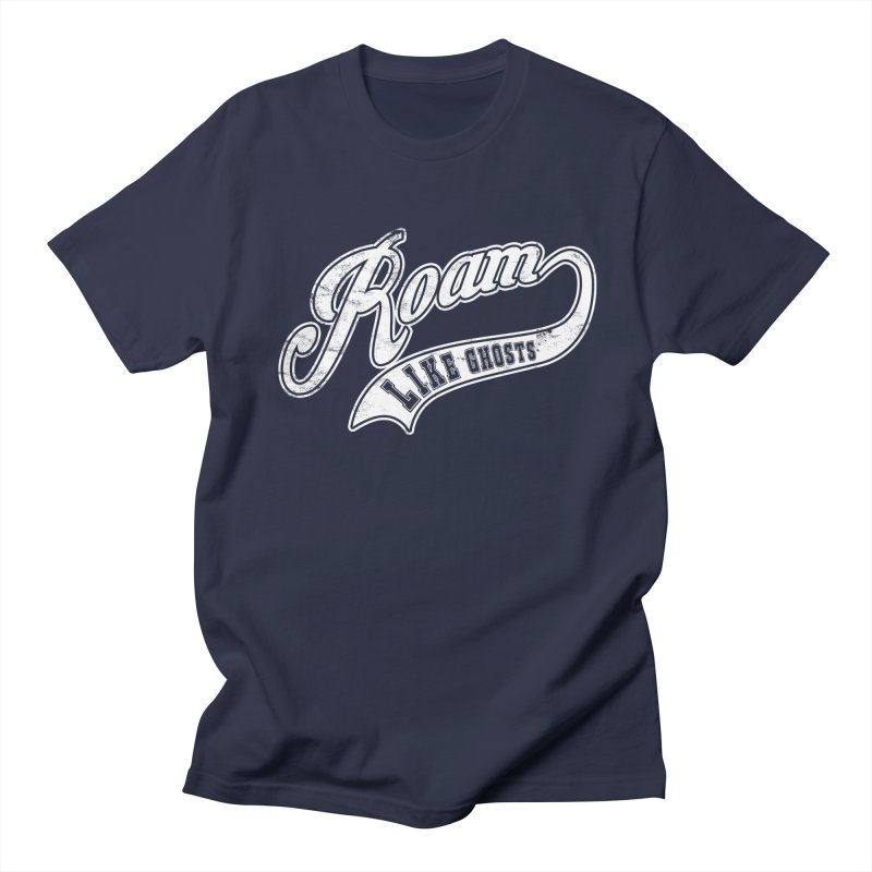 Roam Like Ghosts - Athletics for Darks colors Men's Regular T-Shirt by Roam Like Ghost's Merch Shop