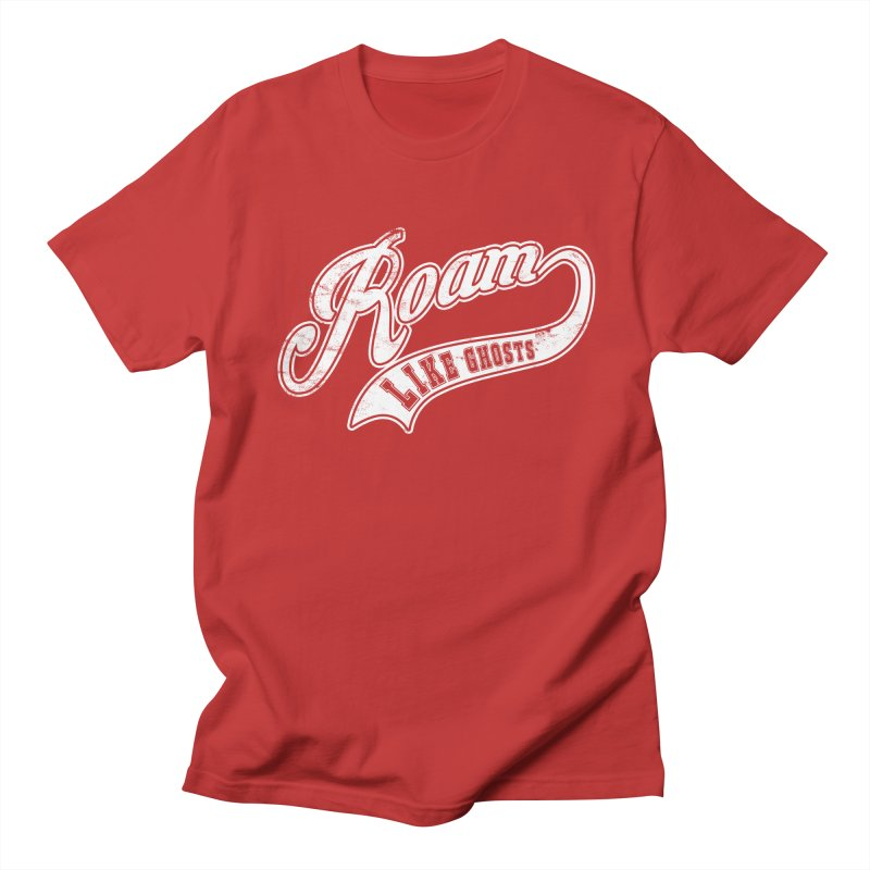 Roam Like Ghosts - Athletics for Darks colors Women's Regular Unisex T-Shirt by Roam Like Ghost's Merch Shop