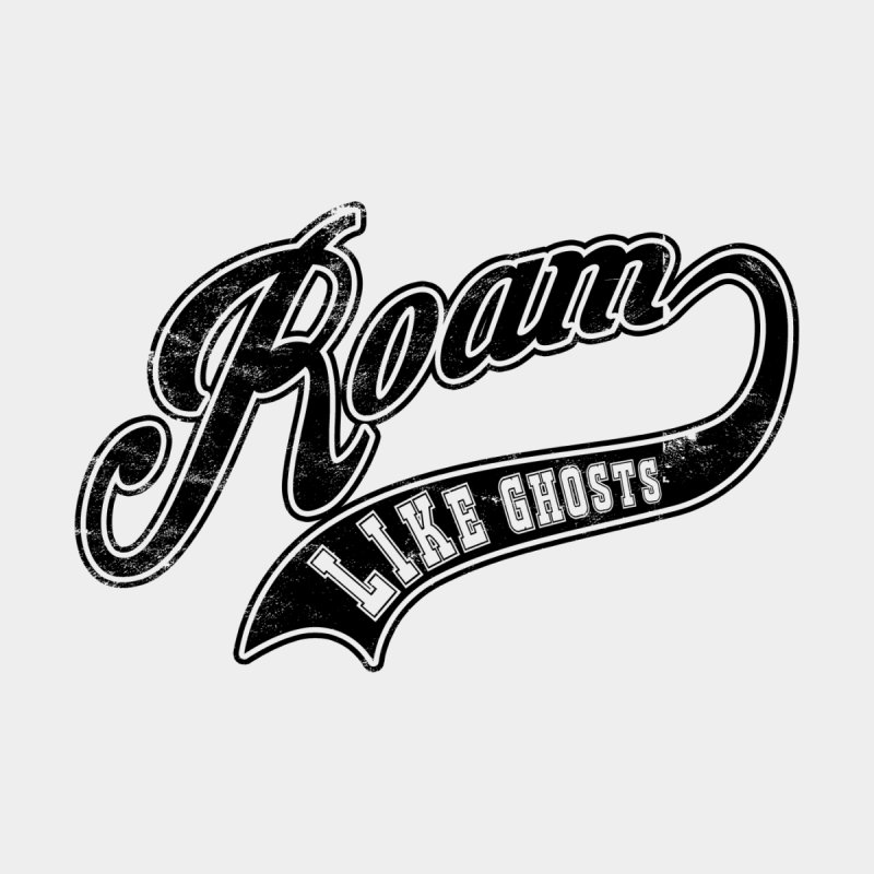 Roam Like Ghosts - Athletics design for light colors. Men's Longsleeve T-Shirt by Roam Like Ghost's Merch Shop