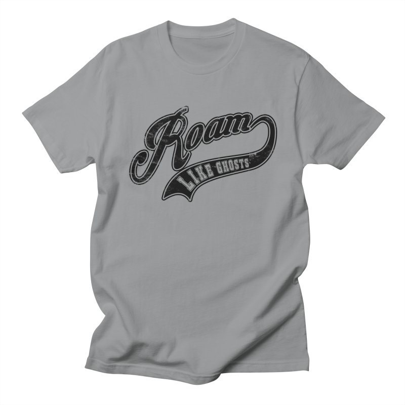Roam Like Ghosts - Athletics design for light colors. Men's Regular T-Shirt by Roam Like Ghost's Merch Shop