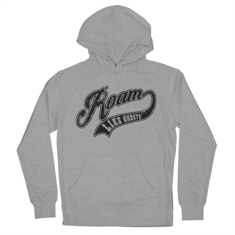 Roam Like Ghosts - Athletics design for light colors. Women's French Terry Pullover Hoody by Roam Like Ghost's Merch Shop