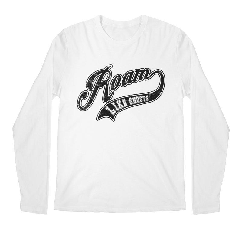 Roam Like Ghosts - Athletics design for light colors. Men's Regular Longsleeve T-Shirt by Roam Like Ghost's Merch Shop