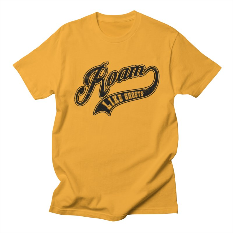 Roam Like Ghosts - Athletics design for light colors. Men's Regular T-Shirt by Roam Like Ghost's Merch Shop