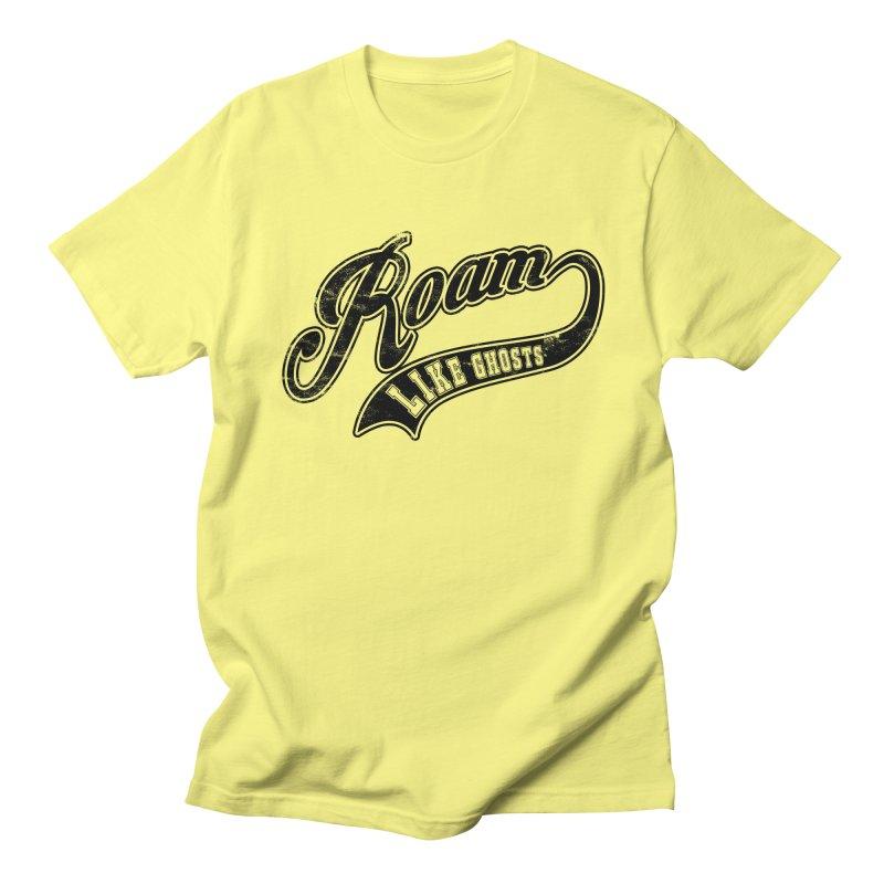 Roam Like Ghosts - Athletics design for light colors. Women's Regular Unisex T-Shirt by Roam Like Ghost's Merch Shop