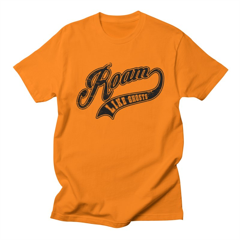 Roam Like Ghosts - Athletics design for light colors. Women's Regular Unisex T-Shirt by Roam Like Ghost's Merch Shop