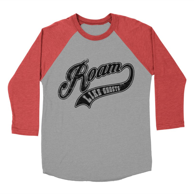 Roam Like Ghosts - Athletics design for light colors. Men's Baseball Triblend Longsleeve T-Shirt by Roam Like Ghost's Merch Shop