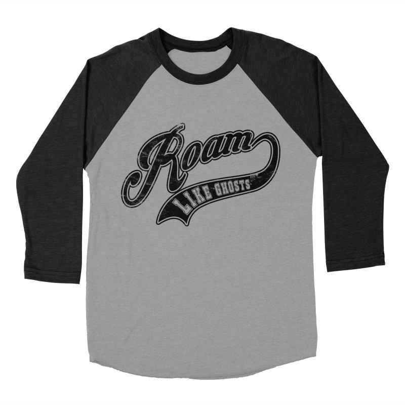 Roam Like Ghosts - Athletics design for light colors. Men's Baseball Triblend Longsleeve T-Shirt by Roam Like Ghost's Merch Shop