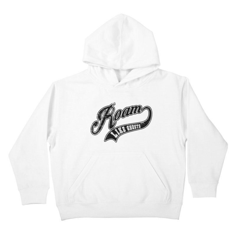 Roam Like Ghosts - Athletics design for light colors. Kids Pullover Hoody by Roam Like Ghost's Merch Shop