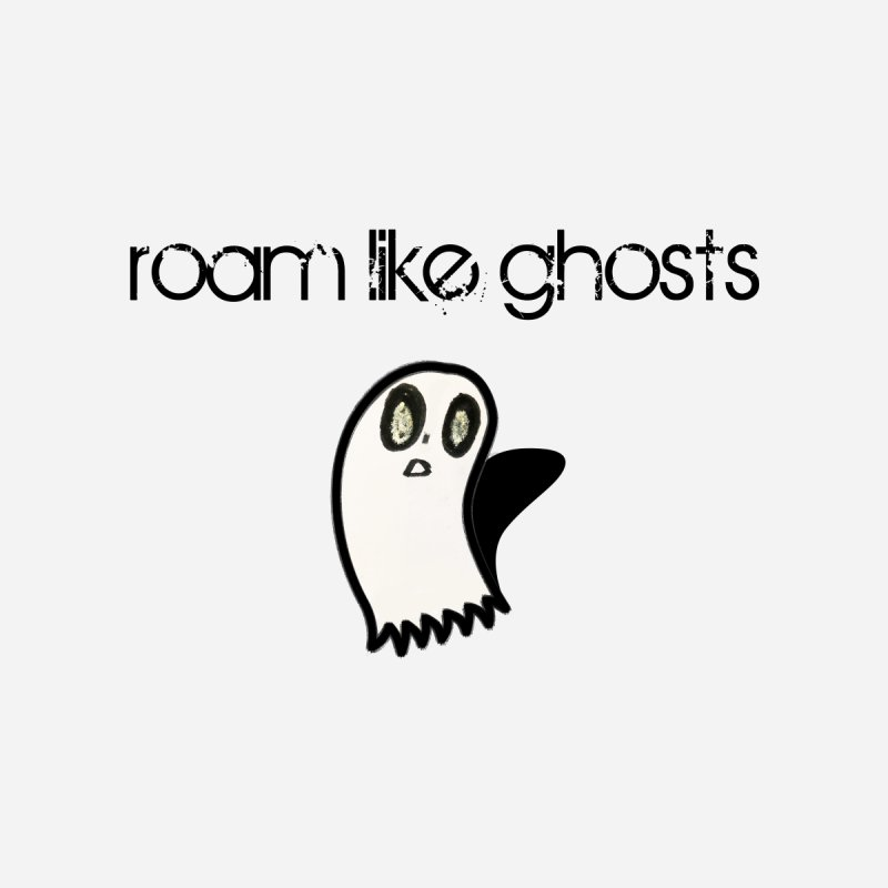 RLG-Olivias-Ghost-Design-on-lights Men's T-Shirt by Roam Like Ghost's Merch Shop