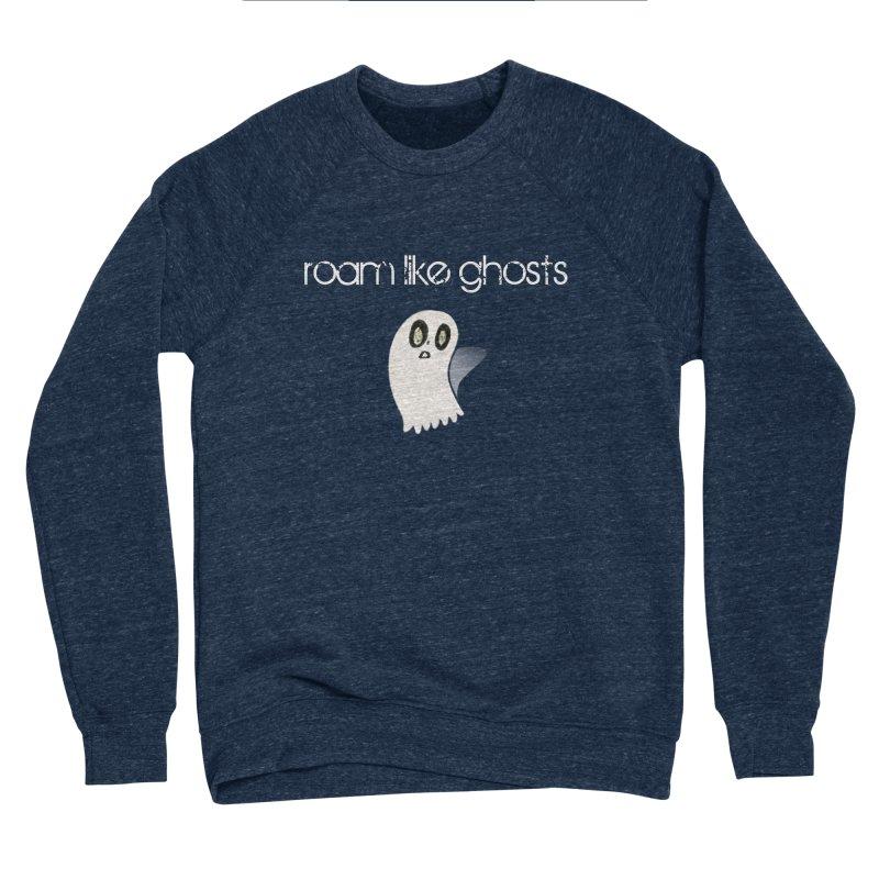 RLG-Olivias-Ghost-Design-on-darks Men's Sponge Fleece Sweatshirt by Roam Like Ghost's Merch Shop