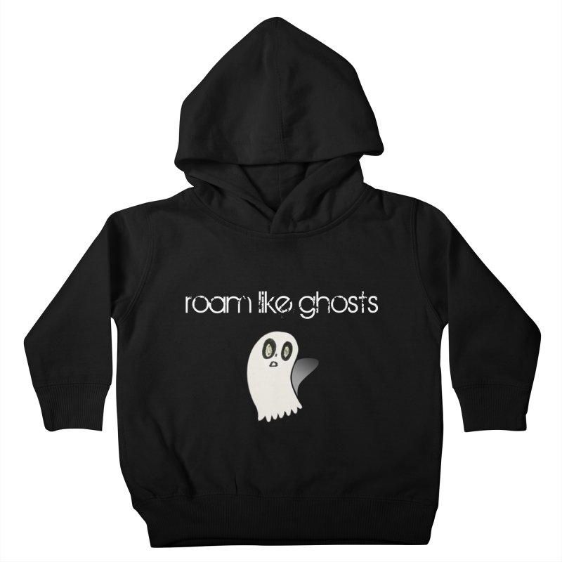 RLG-Olivias-Ghost-Design-on-darks Kids Toddler Pullover Hoody by Roam Like Ghost's Merch Shop