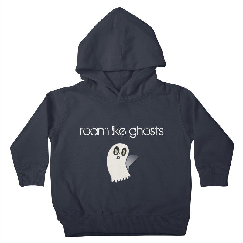 RLG-Olivias-Ghost-Design-on-darks Kids Toddler Pullover Hoody by Roam Like Ghost's Merch Shop