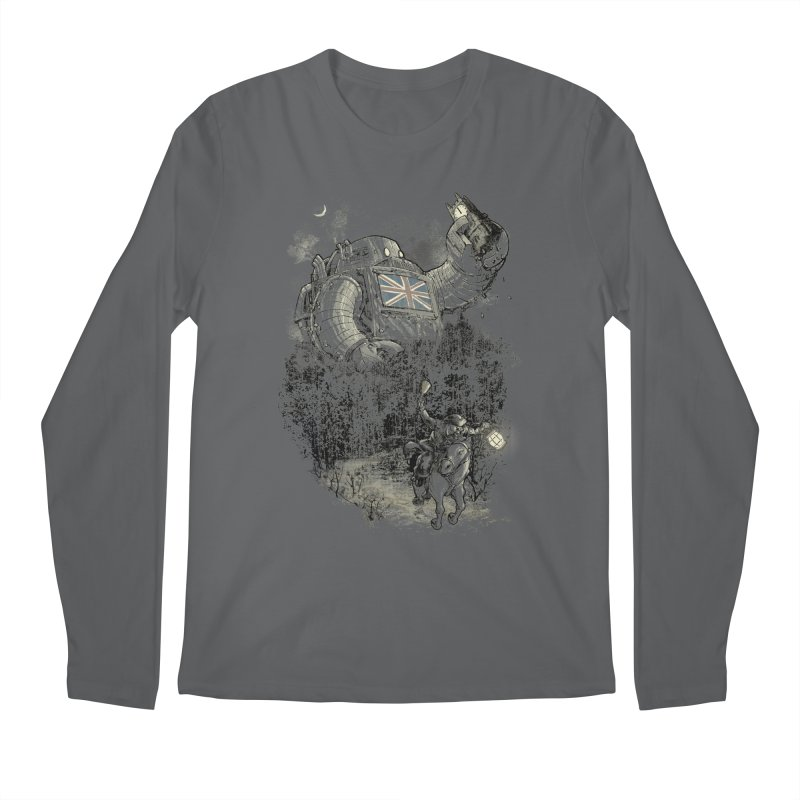 Twenty if by Giant Robot Men's Longsleeve T-Shirt by Robbie Lee's Artist Shop