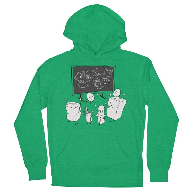 Let's Bake a Cake! Women's French Terry Pullover Hoody by Robbie Lee's Artist Shop