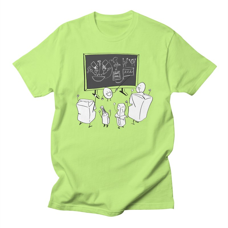 Let's Bake a Cake! Men's T-shirt by Robbie Lee's Artist Shop