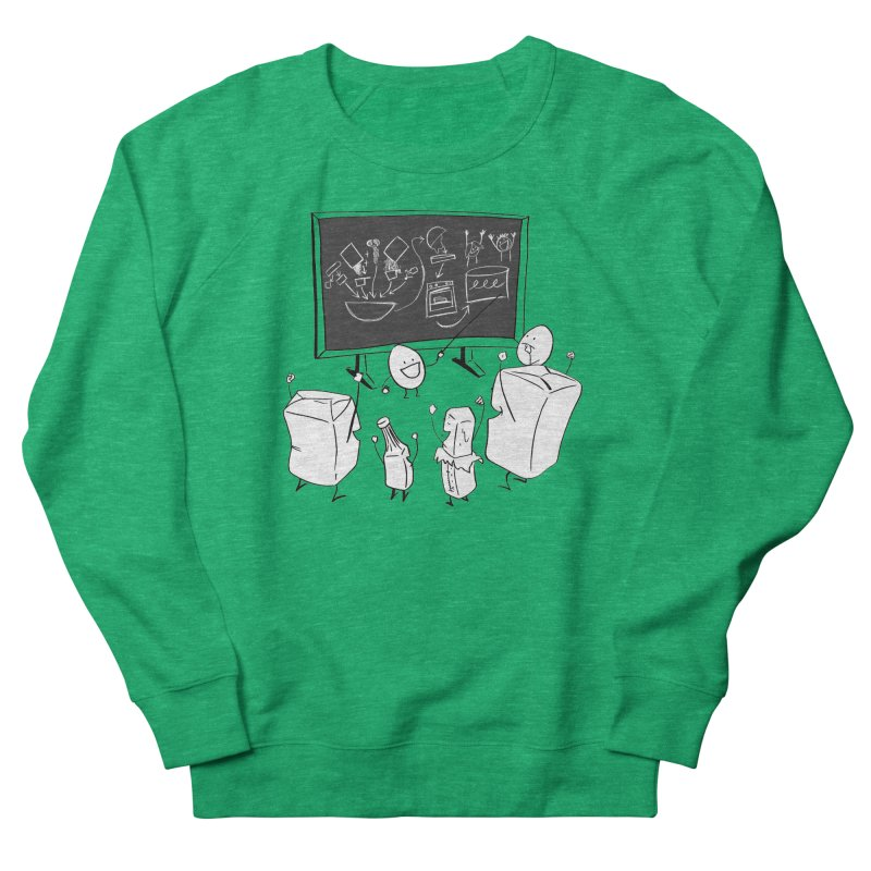 Let's Bake a Cake! Women's Sweatshirt by Robbie Lee's Artist Shop