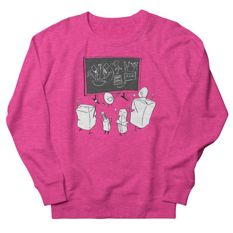 Let's Bake a Cake! Men's French Terry Sweatshirt by Robbie Lee's Artist Shop