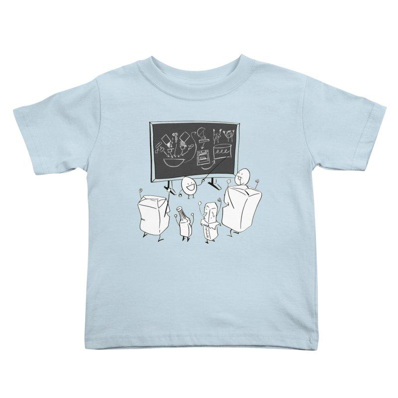 Let's Bake a Cake! Kids Toddler T-Shirt by Robbie Lee's Artist Shop